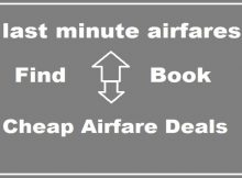 Find Cheap last minute airfares